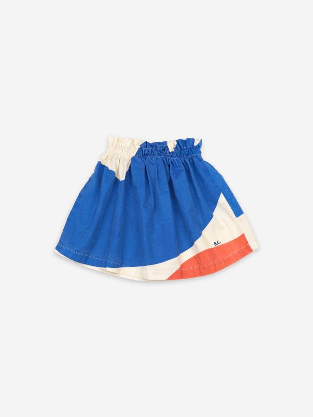 【BOBOCHOSES】121AC094 Landscape Woven Skirt