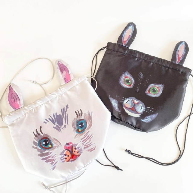 【Nathalie Late】Drawstring bag