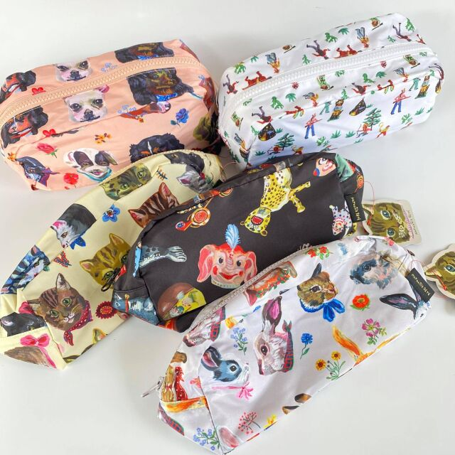 【Nathalie Late】Oblong Pouch