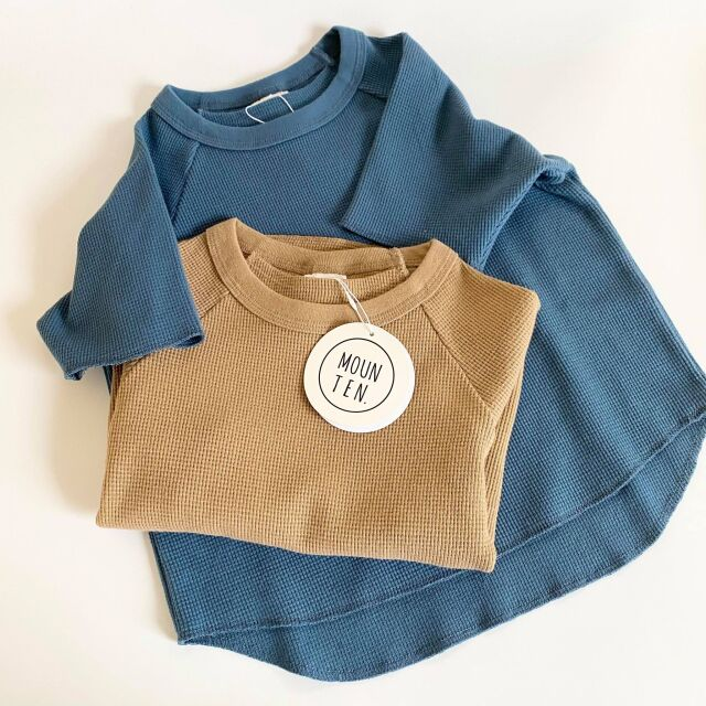 【MOUNTEN.】21S-MT63-0923a stretch thermal T-shirts