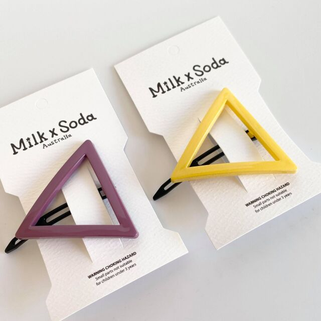 【Milk×Soda】△HAIR CLIP