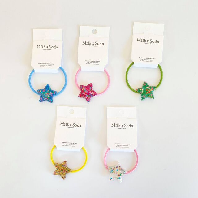 【Milk×Soda】BRIGHT STAR HAIR TIE