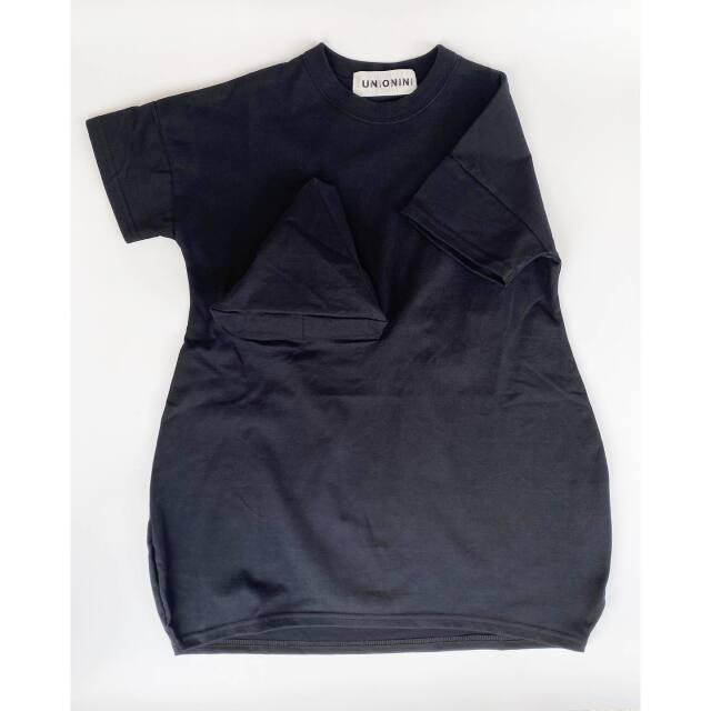 【UNIONINI】OP-071 ◯△ tee dress