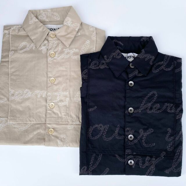 【UNIONINI】BL-014 embroidery long blouse