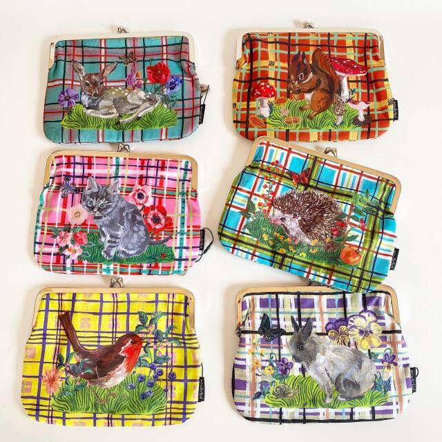 【Nathalie Late】NL364  Frame purse