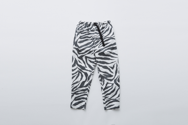 【eLfinFolk】zebra pants white レディース