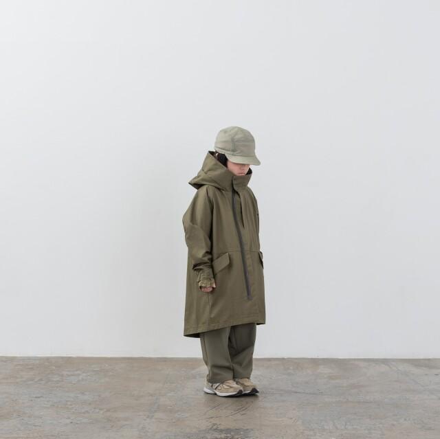 【MOUNTEN.】MT201001-a ventile coat キッズ95 110 125 140 おとな1