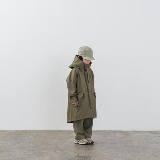 【MOUNTEN.】MT201001-a ventile coat キッズ95 110 125 140 おとな1