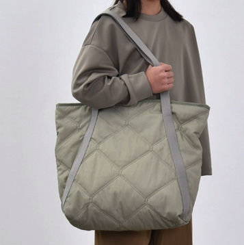 【MOUNTEN.】MT202017 quilt tote bag