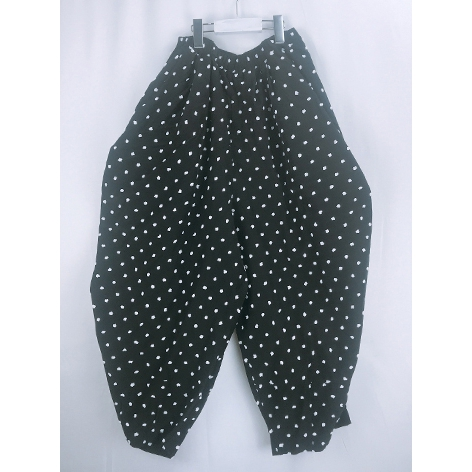 【frankygrow】20FWBT-225 BONBON CUT JQ GATHER PANTS/キッズから大人まで