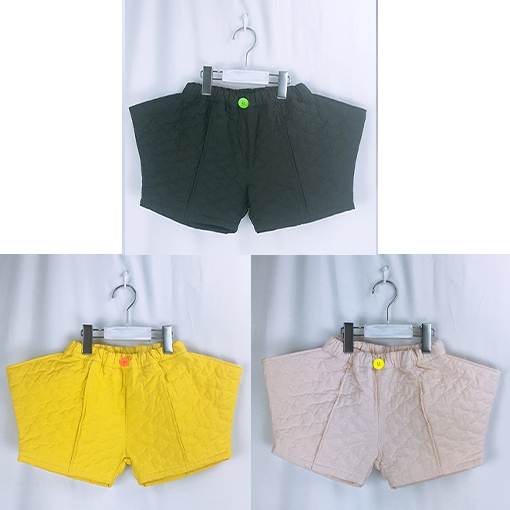 【frankygrow】20FWBT-228 BEAR QUILTING RHOMBOS SHORT PANTS/キッズから大人まで