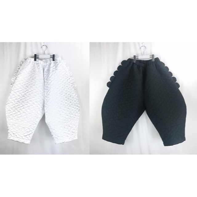【frankygrow】20FWBT-229 BEAR QUILTING BIG PANTS/キッズから大人まで