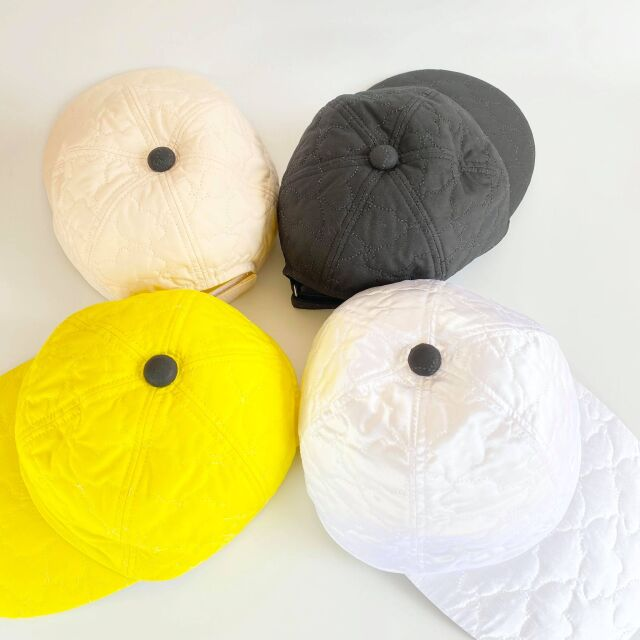 【frankygrow】20FWBB-226 BEAR QUILTING CAP