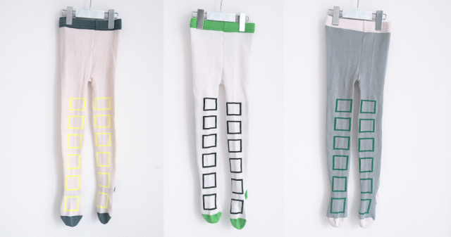 【frankygrow】20FWTS-020 SQUARE TIGHTS