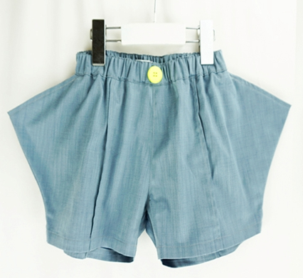 【frankygrow】20SBT-250 RHOMBOS DENIM SHORT PANTS