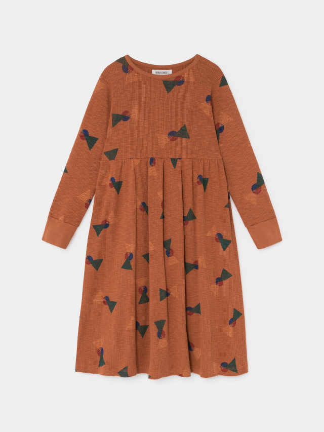 【BOBOCHOSES】219085 ALL OVER FLAGS JERSEY DRESS