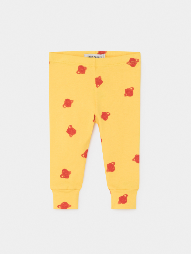 【BOBOCHOSES】219175 ALL OVER SMALL SATURN LEGGINGS/baby