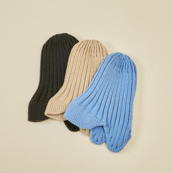 【MOUNTEN.】knit flight cap [21W-MA26-1017]