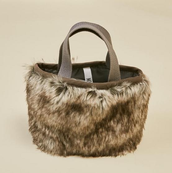 【MOUNTEN.】fur mini bag  [21W-MA30-1049]
