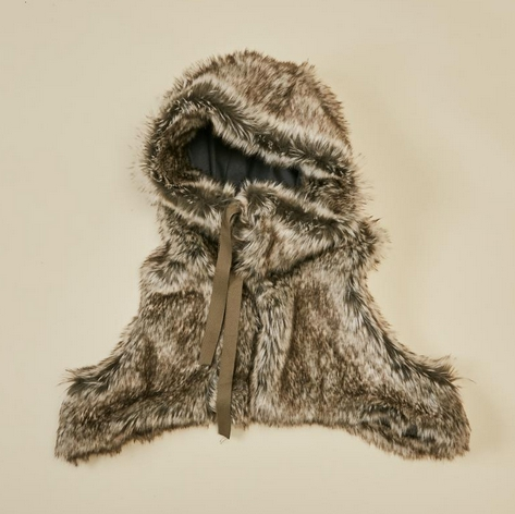 【MOUNTEN.】fur vest  [21W-MA43-1048a]