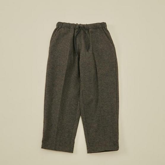 【MOUNTEN.】cotton tweed pants  [21W-MP19A-1029a]