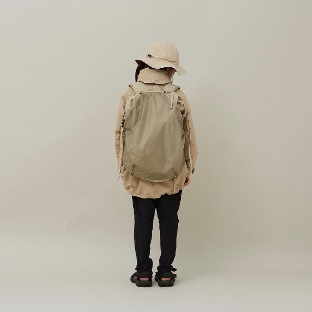 【MOUNTEN.】21S-MA35-0910 daypack 25L beige