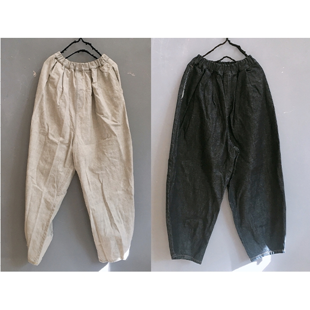 【frankygrow】21SBT-240 TEPERED DENIM PANTS