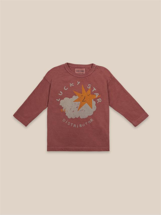 【BOBOCHOSES】22000002 Lucky Star Long Sleeve T-Shirt