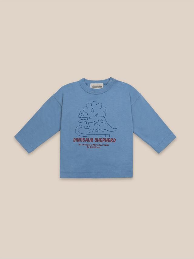 【BOBOCHOSES】22000008 Dino Long Sleeve T-Shirt