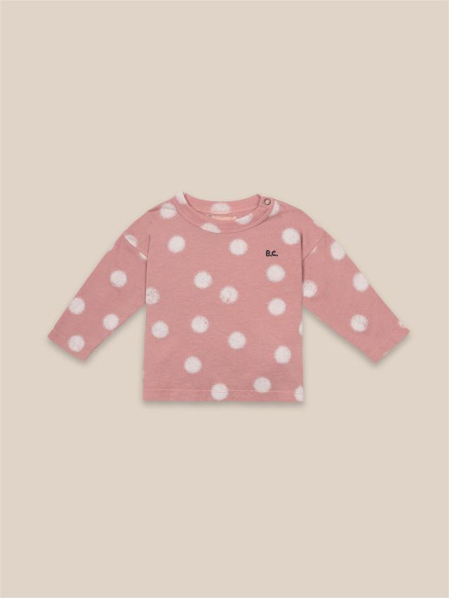 【BOBOCHOSES】22000009 Spray Dots Long Sleeve T-Shirt