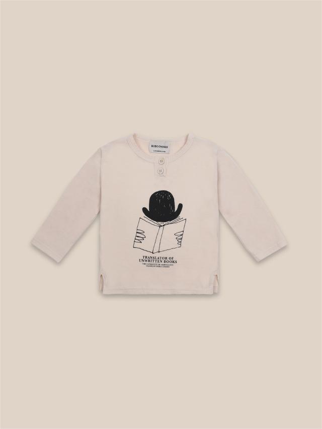 【BOBOCHOSES】22000011 Translator Buttonned T-Shirt