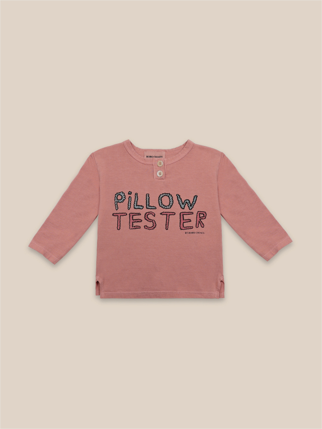 【BOBOCHOSES】22000013 Pillow Tester Buttoned T-Shirt
