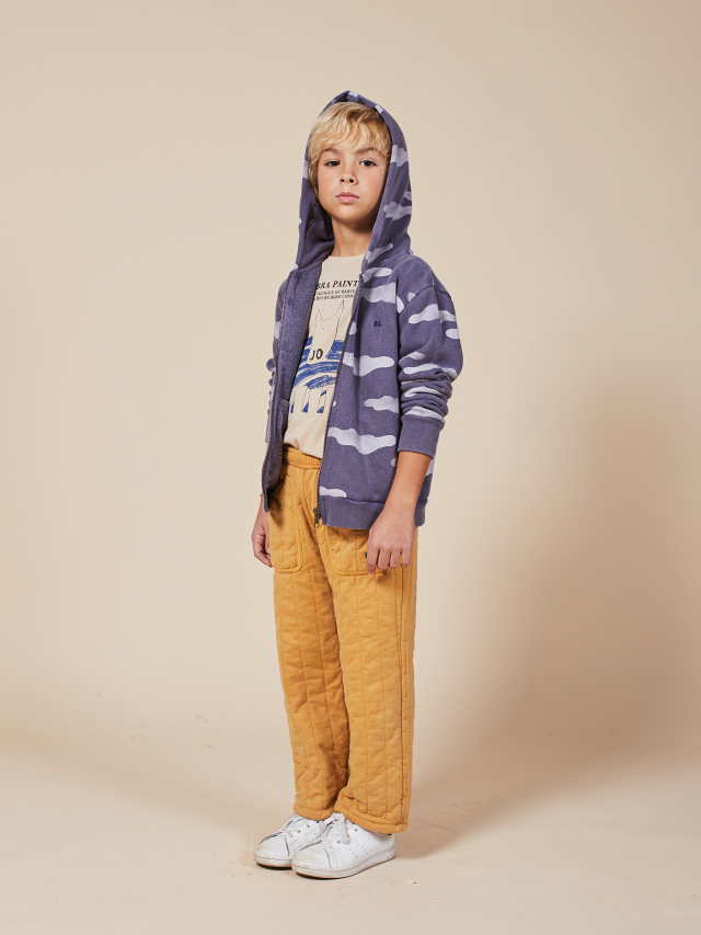 【BOBOCHOSES】22001048 Clouds All Over Zipped Hoodie