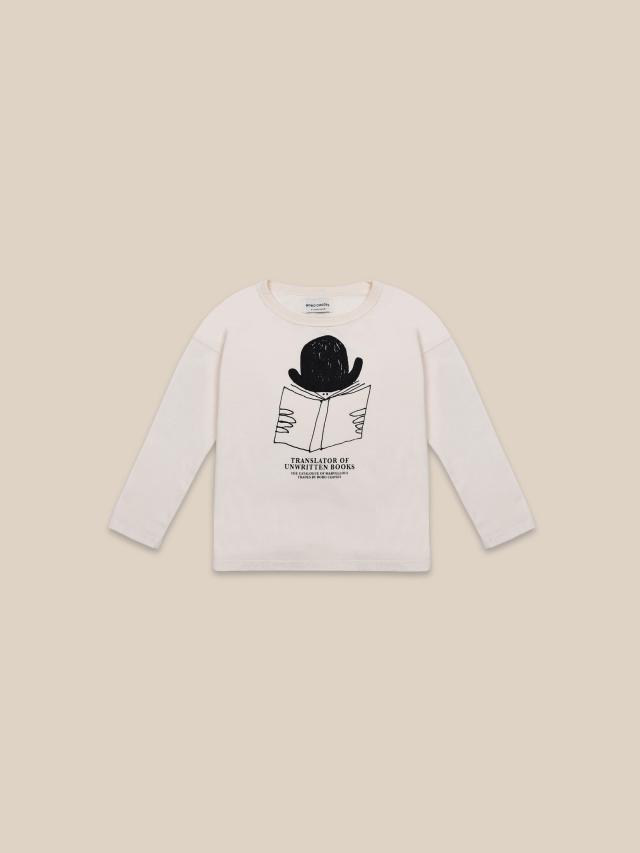 【BOBOCHOSES】22001005 Translator Long Sleeve T-shirt