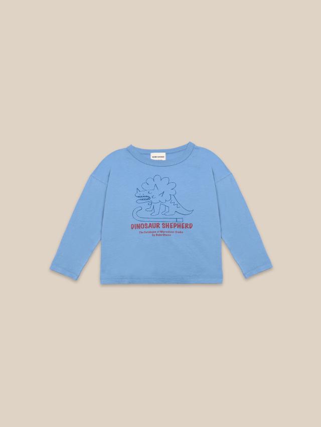 【BOBOCHOSES】22001010 Dino Long Sleeve T-shirt