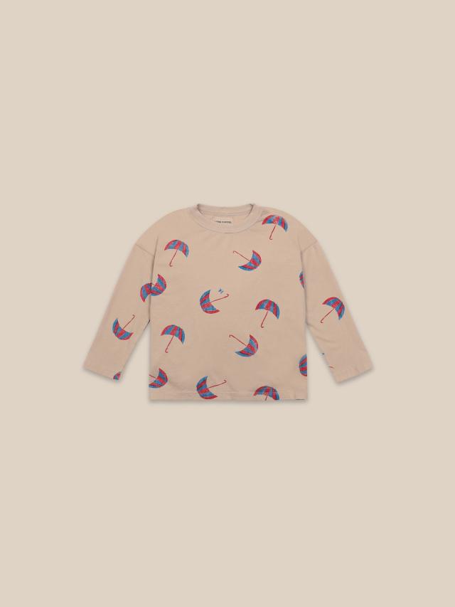 【BOBOCHOSES】22001012 Umbrellas All Over Long Sleeve T-shirt