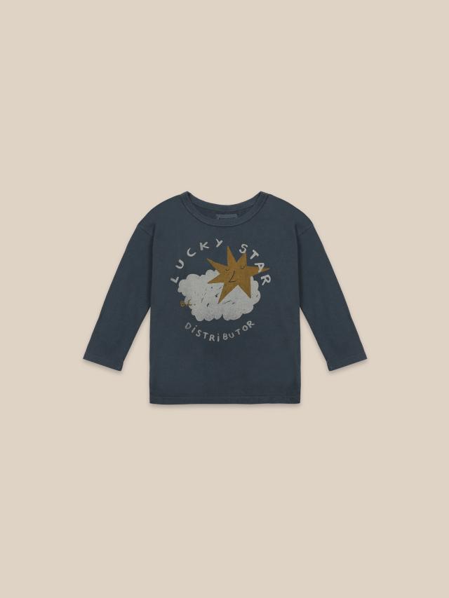 【BOBOCHOSES】22001015 Lucky Star Long Sleeve T-shirt