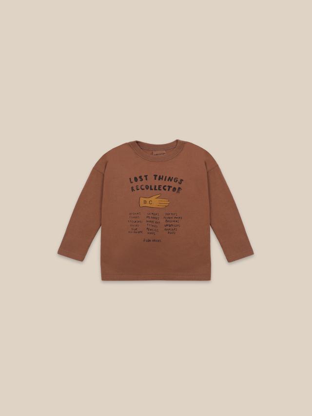 【BOBOCHOSES】22001016 Lost Thing Recollector Long Sleeve T-shirt