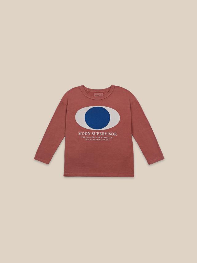 【BOBOCHOSES】22001018 Supervisor Long Sleeve T-shirt