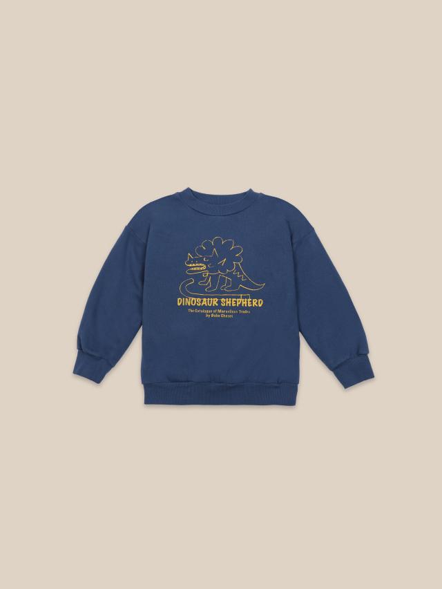 【BOBOCHOSES】22001028 Dino Sweatshirt