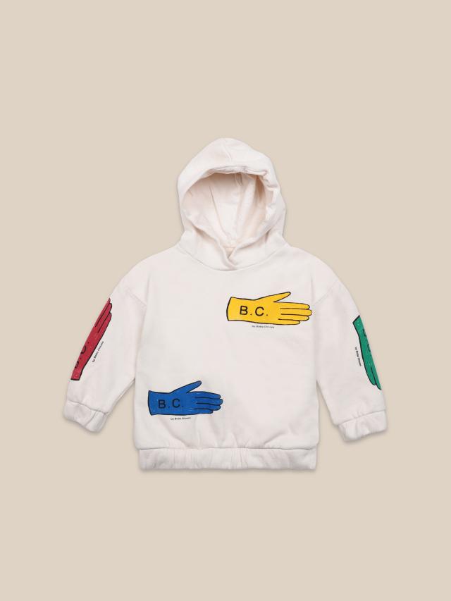 【BOBOCHOSES】22001046 Lost Gloves Hooded Sweatshirt