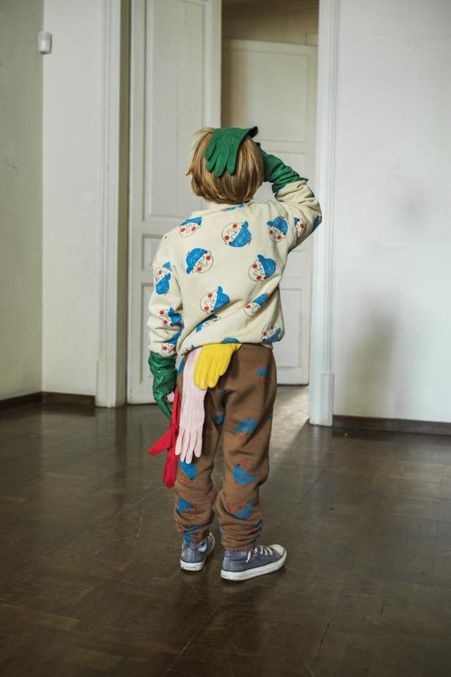 【BOBOCHOSES】22001082 Boy All Over Jogging Pants