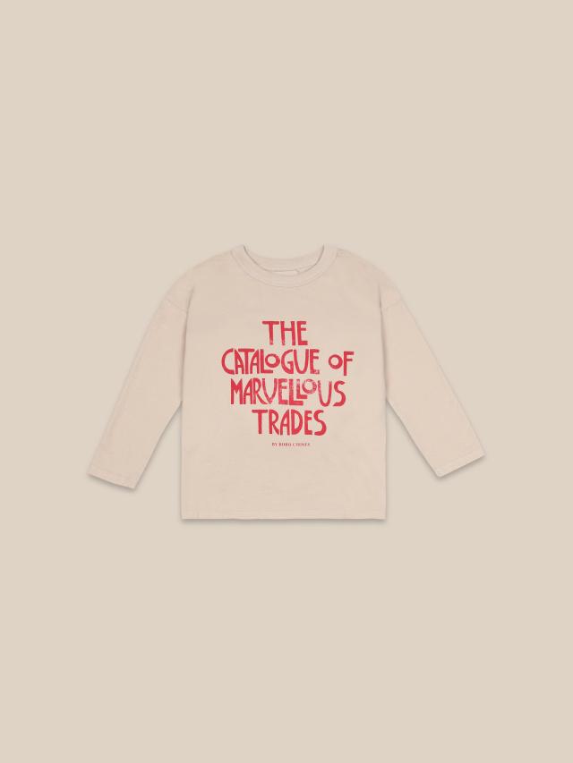 【BOBOCHOSES】22001157 Catalogue Of Marvelous Trades Long Sleeve T-shirt