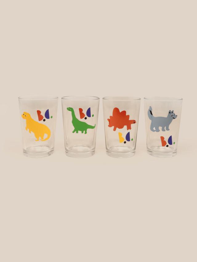 【BOBOCHOSES】22070013 Dino Glass Pack