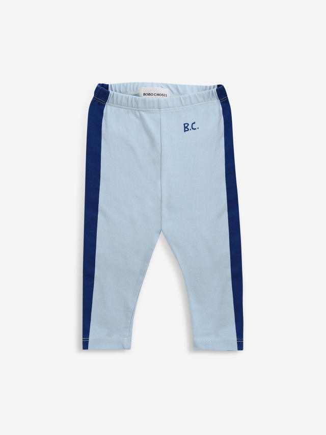 【BOBOCHOSES】Drop1/221AB012 Blue Stripes leggings BABY