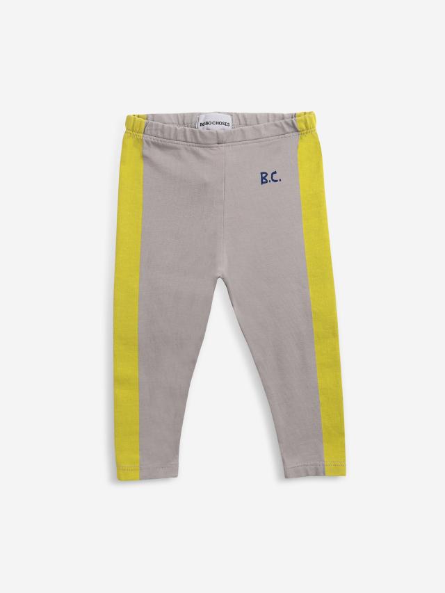 【BOBOCHOSES】Drop1/221AB014 Yellow Stripes leggings BABY