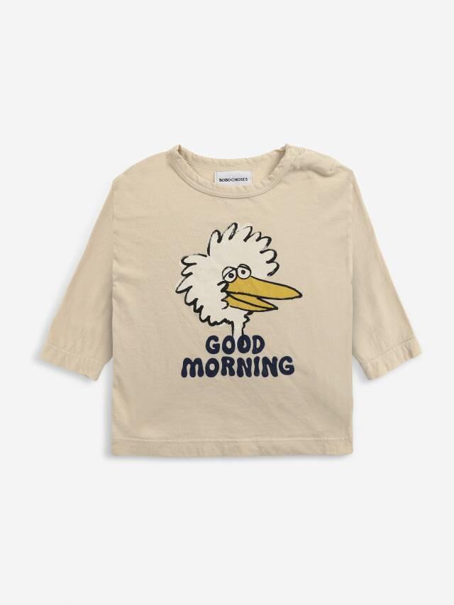 【BOBOCHOSES】Drop1/221AB020 Birdie long sleeve T-shirt BABY