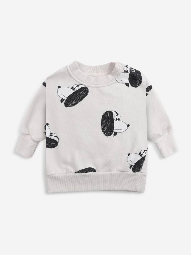 【BOBOCHOSES】Drop1/221AB031 Doggie All Over sweatshirt BABY