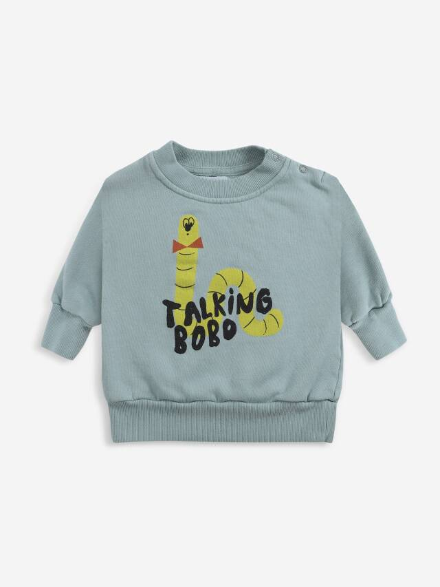 【BOBOCHOSES】Drop2/221AB036 Scholar Worm sweatshirt