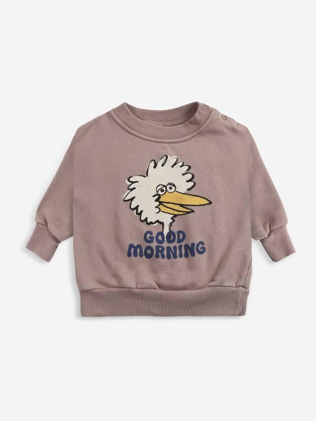 【BOBOCHOSES】Drop1/221AB038 Birdie sweatshirt BABY